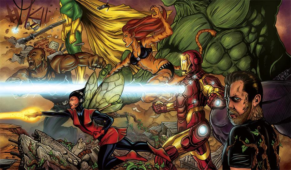 Avengers & me