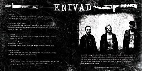 Knivad - Sakta ruttnar vi - inside