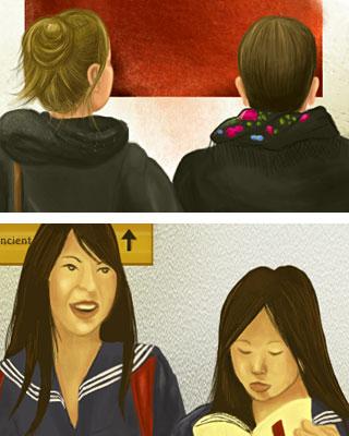 Wednesday: Läppstift på din krage - Closeups