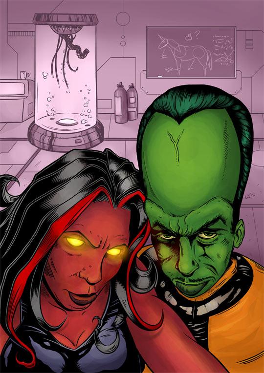 Red She-Hulk & the Leader